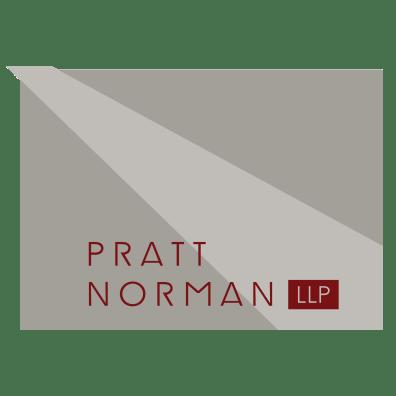 PrattNorman_Logo_rev red