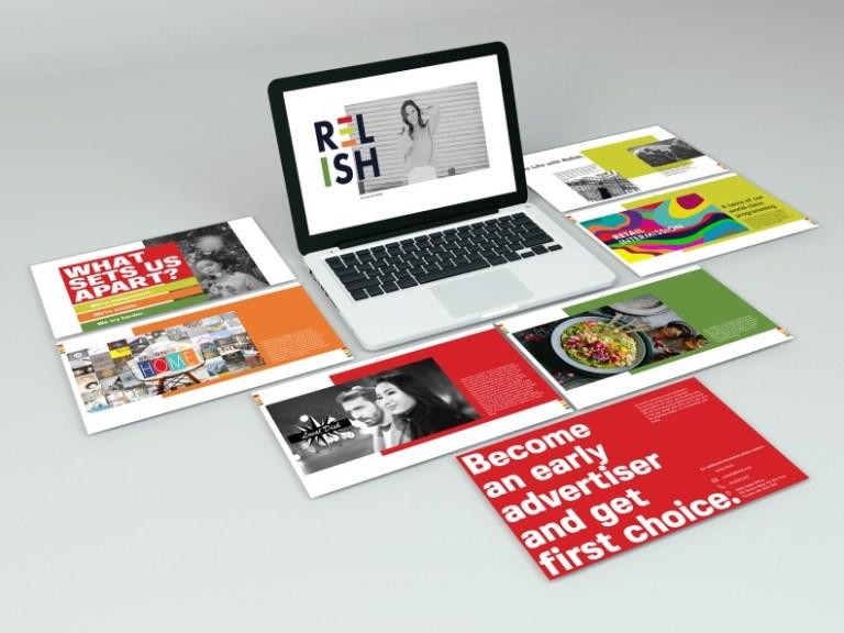 relish identity design