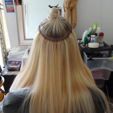 Micro bead hair extensions uk the best hair 2017 micro bead hair extensions in short before and after tape pmusecretfo Choice Image