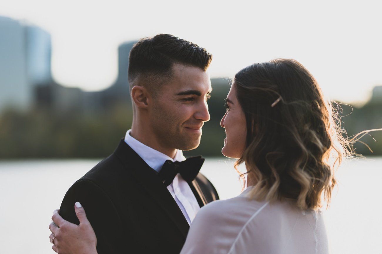 Georgetown high end wedding