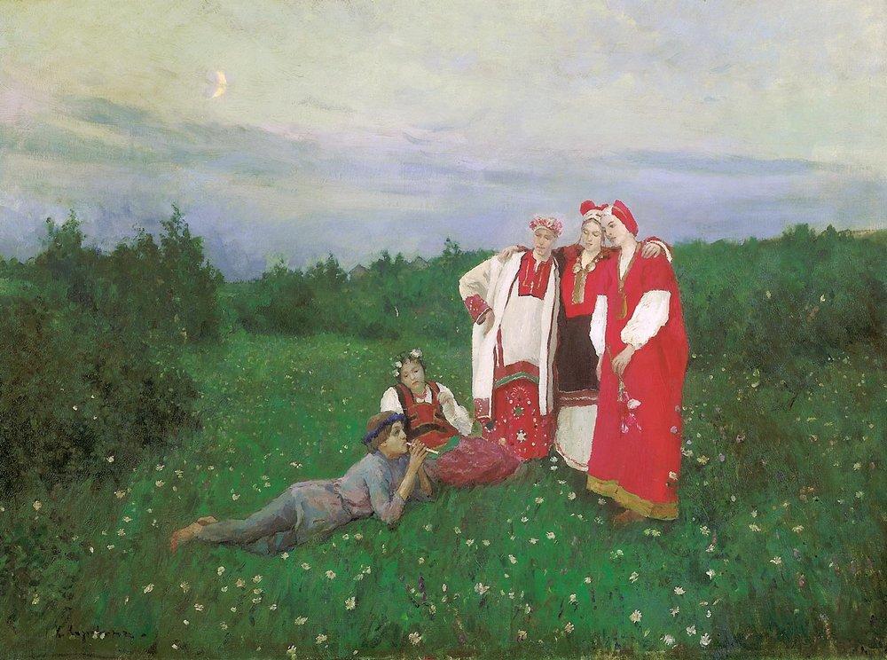 Константин Алексеевич Коровин. Северная идиллия. 1886