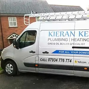 Kieran Kelly Heating Oil Gas boilers work van