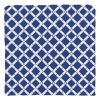 Pillow Cover Bamboo Pattern Blue
