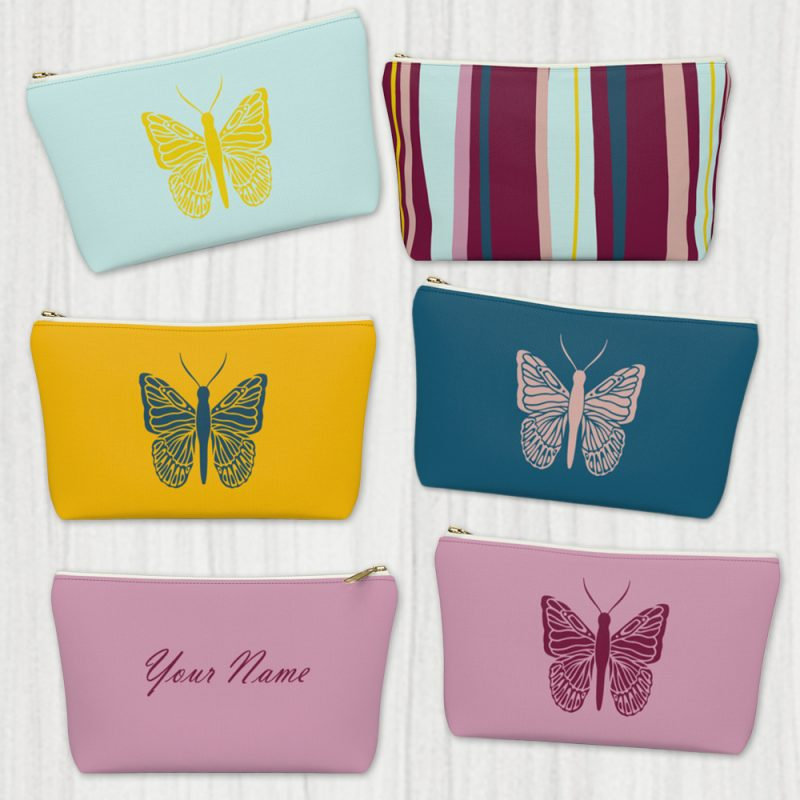 Butterfly Custom Pouch