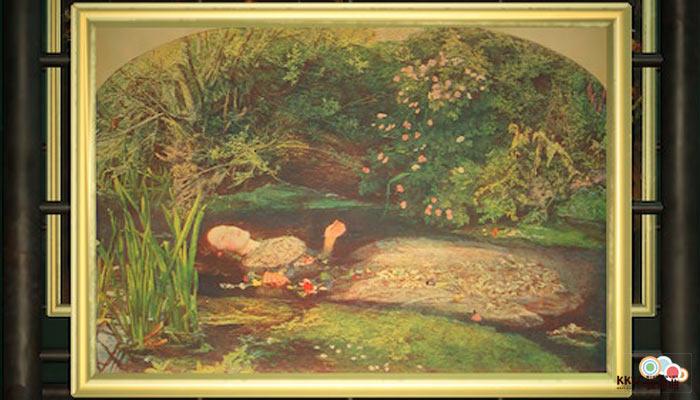 動森博物館藝術品鑑定-沉沒的名畫