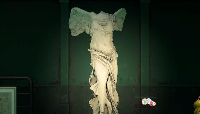 動森博物館藝術品鑑定-神聖的雕塑-真