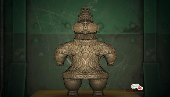 動森博物館藝術品鑑定-遠古的雕塑-真
