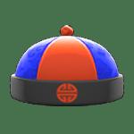 動森 呂遊物品 唐裝帽-藍色