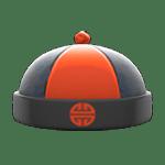 動森 呂遊物品 唐裝帽-黑色