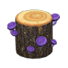 動森 蘑菇季 奇怪蘑菇樹幹