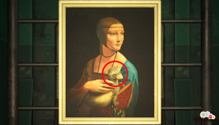動森博物館藝術品鑑定-婀娜的名畫-假