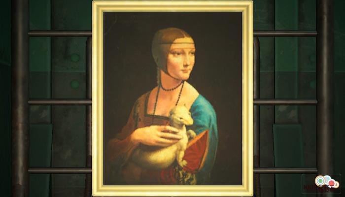 動森博物館藝術品鑑定-婀娜的名畫-真