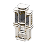 動森 六月新娘 婚禮家具 婚禮管風琴-白色