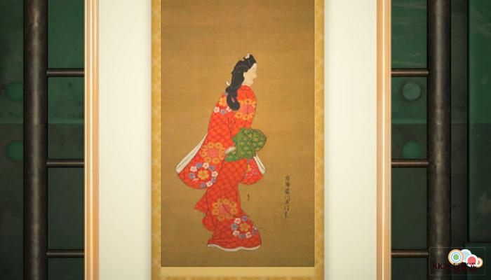 動森博物館藝術品鑑定-端莊的名畫-真