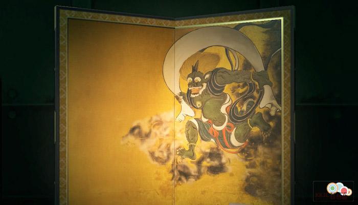 動森博物館藝術品鑑定-粗野的名畫右半邊的名畫-真
