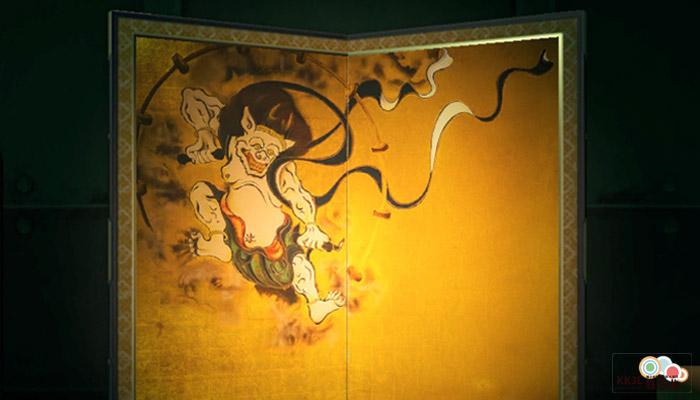 動森博物館藝術品鑑定-粗野的名畫左半邊的名畫-真