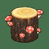 動森 蘑菇季 紅色蘑菇樹幹