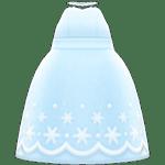 動森 六月新娘 婚禮服飾-純白洋裝