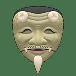 動森 呂遊物品 老翁能面具
