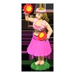 動森 呂遊物品 草裙舞娃娃-粉紅