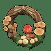 動森 蘑菇季 蘑菇花圈