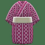 動森煙火大會-歌舞伎浴衣-紫紅色