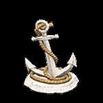 釣魚大會攻略:錨裝飾品-白色