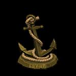 釣魚大會攻略:錨裝飾品-金色