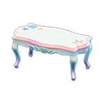 動森人魚家具系列:人魚桌