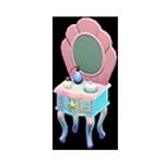 動森人魚家具系列:人魚梳妝台