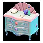 動森人魚家具系列:人魚矮櫃