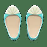 動森人魚服飾系列:人魚鞋B
