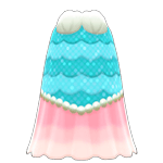 動森人魚服飾系列:人魚魚兒洋裝B