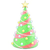 動森 聖誕節裝飾家具DIY 方程式(樹型燈飾)-07