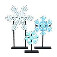 動森 聖誕節裝飾家具DIY 方程式(雪花燈飾)-09