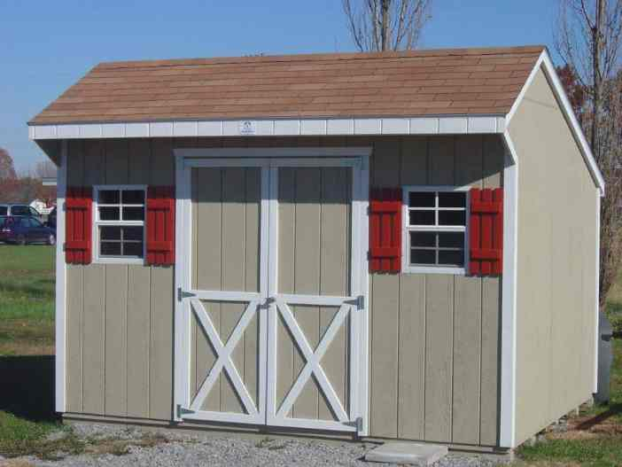 10x12 Quaker | K&K Portable Storage Buildings Southern Illinois