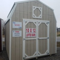 10x12 Lofted Barn Econoline