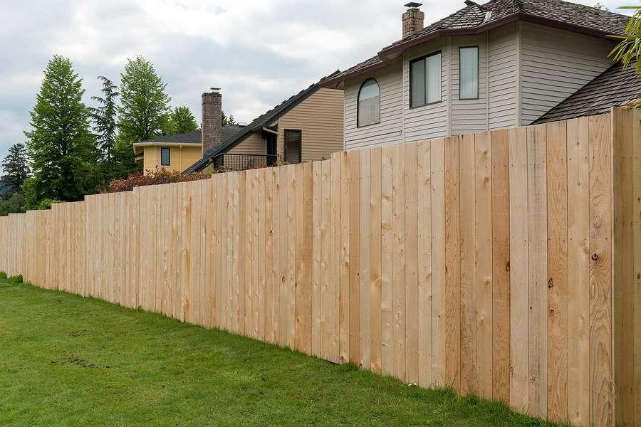wood fence installation east
