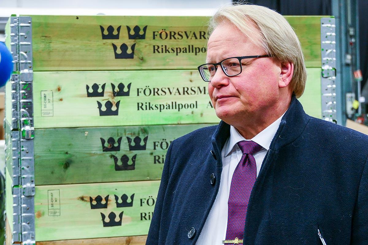 Försvarsminister Peter Hultqvist. Foto: shutterstock.com