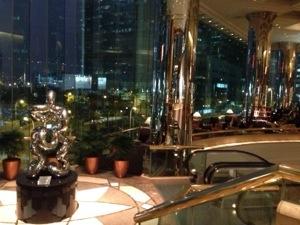 JWマリオット香港で仙人さんのセミナー