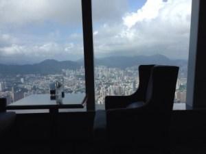 地上116階で朝食を@リッツカールトン香港