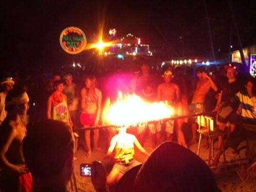 パンガン島のフルムーンパーティー