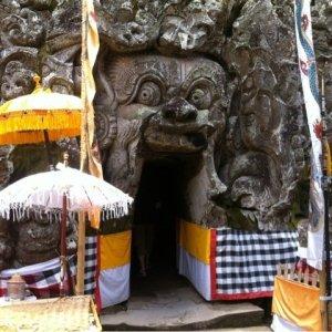 寺院とゴア・ガジャ観光