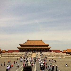 日本の城とは比較にならないほど壮大な皇宮・紫禁城