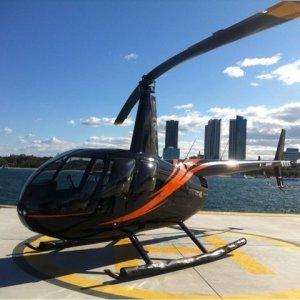 ヘリコプターから見るゴールドコーストの景色が異常だった!