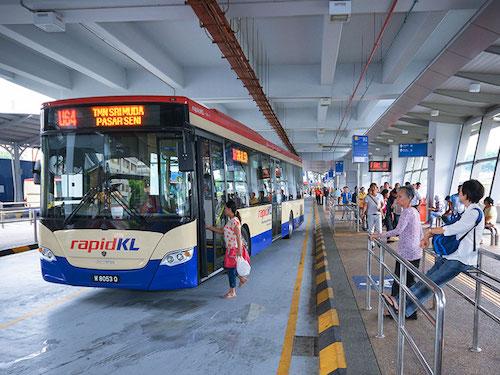 マレーシア バス