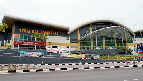 バスターミナル マレーシア