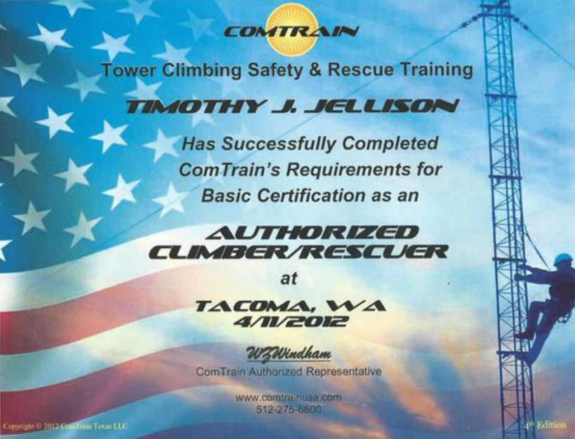 ComTrain-Certification