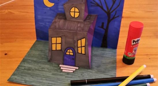 halloween knutsel knutselen school klas tekenen