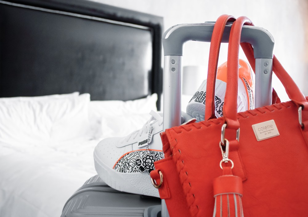 Sneakers (PUMA x Mr. Doodle) in a grand place like the Victoria & Alfred Hotel, may seem odd - but this hotel welcomes all kinds of stylish visitors for a safe stay.